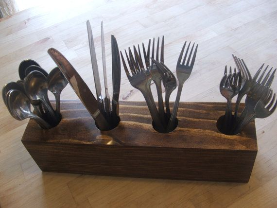 silverware caddy holder