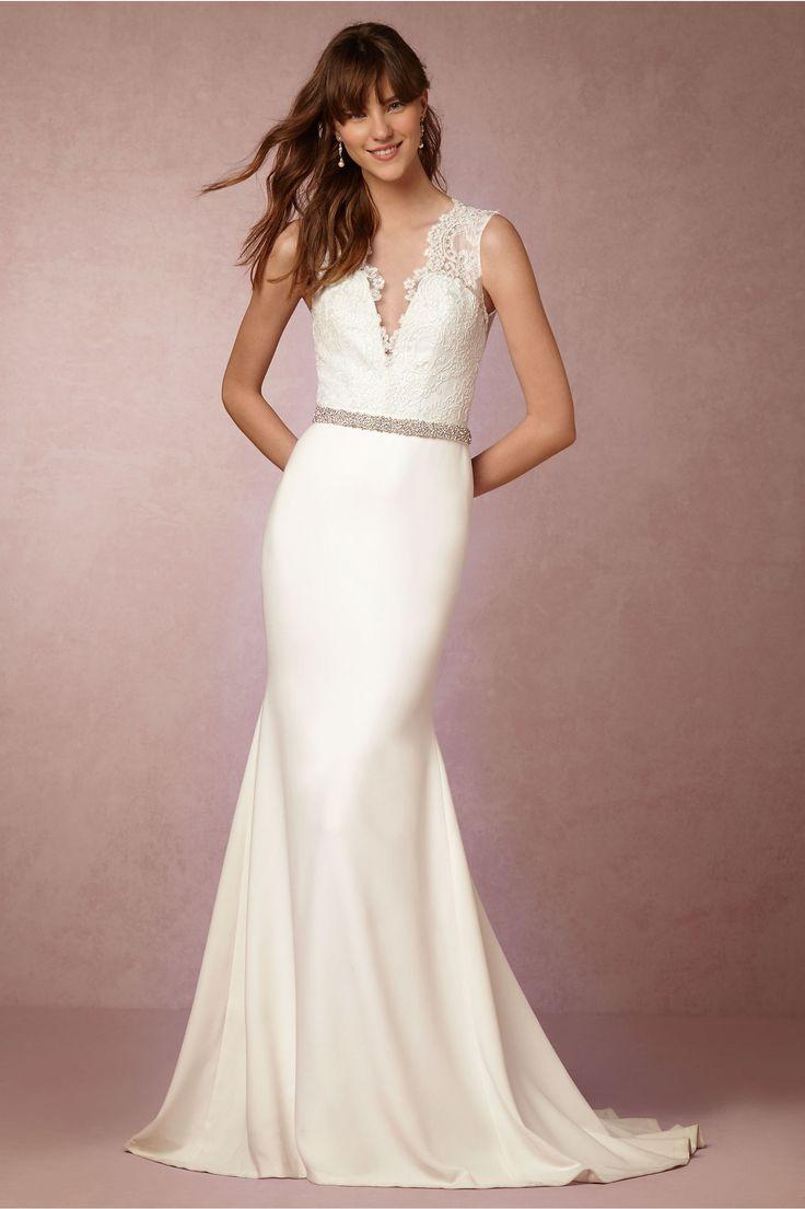 BHLDN Maeve Gown in  Bride Wedding Dresses at BHLDN