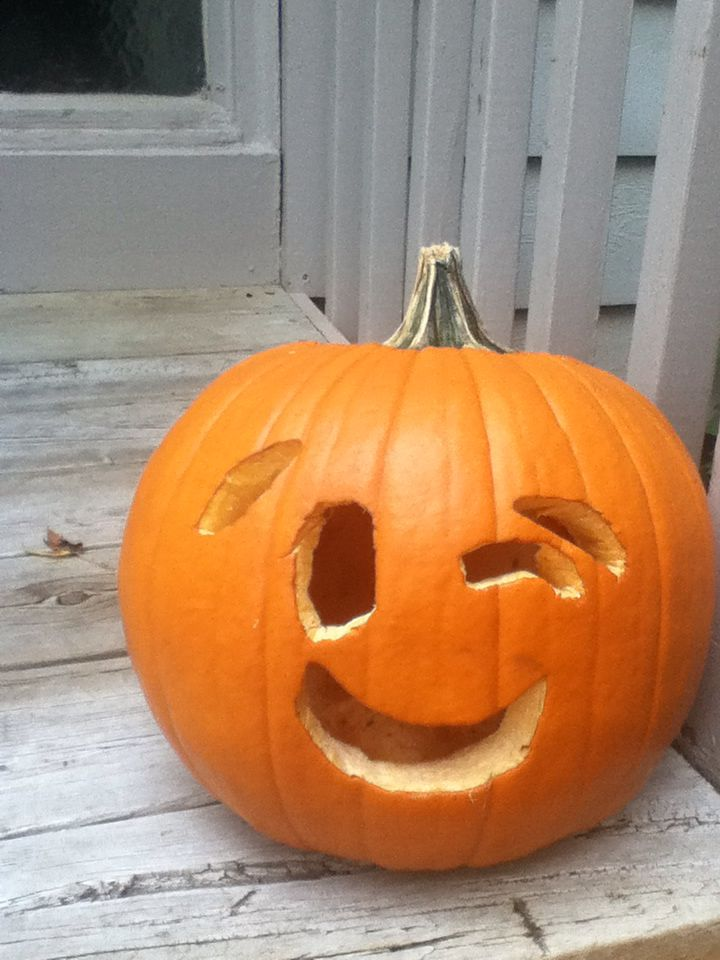 This Is My Pumpkin! I Carved It And I Think Emojis Are My Favorite Kind Part 87