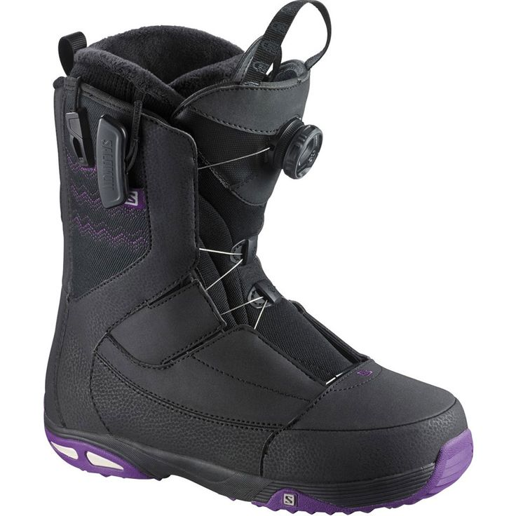 Salomon Ivy Boa STR8JK Snowboard Boots - Women's 2015 | Salomon Snowboards for sale at US Outdoor Store