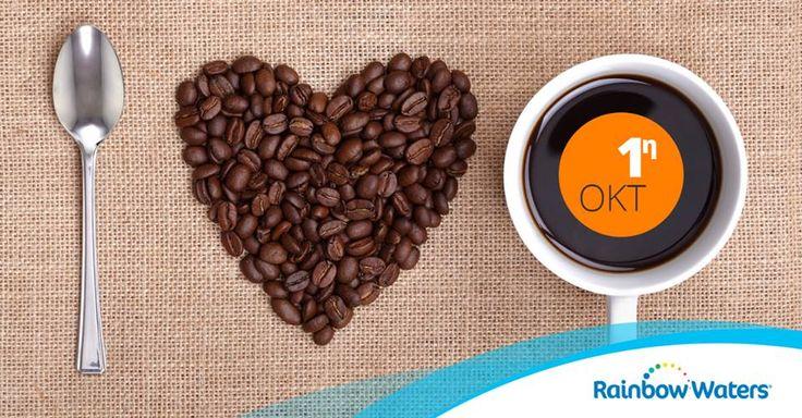 Για όλους τους λάτρεις του καφέ, η 1η Οκτώβρη είναι ημέρα γιορτής! Η Διεθνής Ημέρα Καφέ καθιερώθηκε το 2015 από τον Διεθνή Οργανισμό Καφέ (ICO). Συσπειρώνει τις παραγωγούς και καταναλώτριες χώρες καφέ με σκοπό να προωθηθεί η κατανάλωση καφέ και να τιμηθεί το δημοφιλές αφέψημα με σειρά εκδηλώσεων σε όλο το κόσμο!