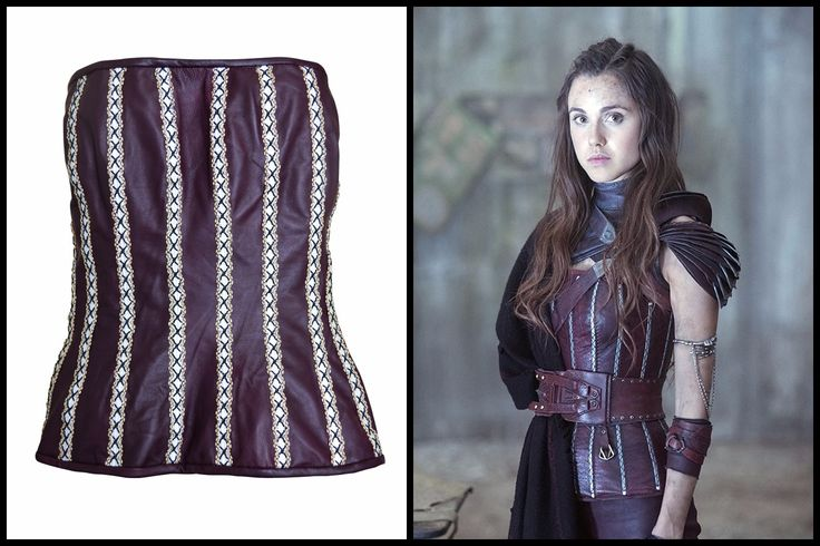 The Shannara Chronicles TV Series Amberle Elessedil Leather Vest Now Available.