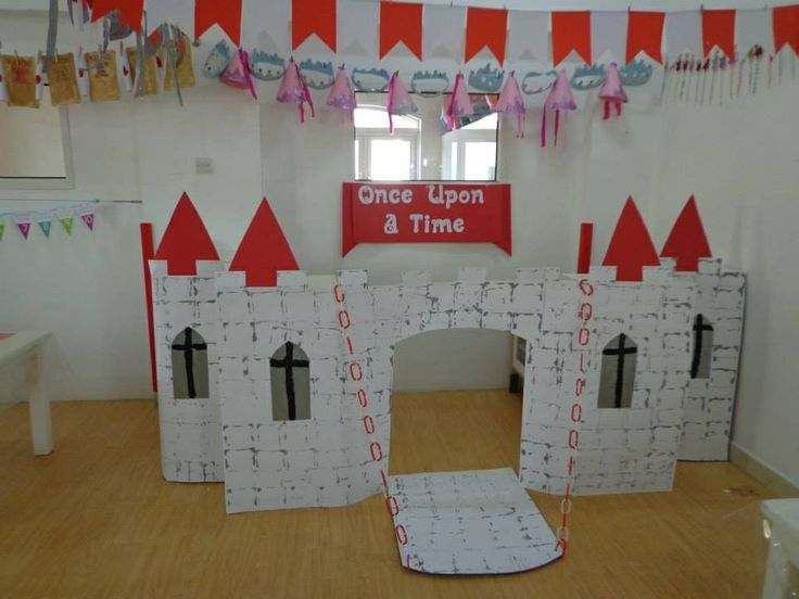 Castle Role-Play / Dramatic Play in Preschool.