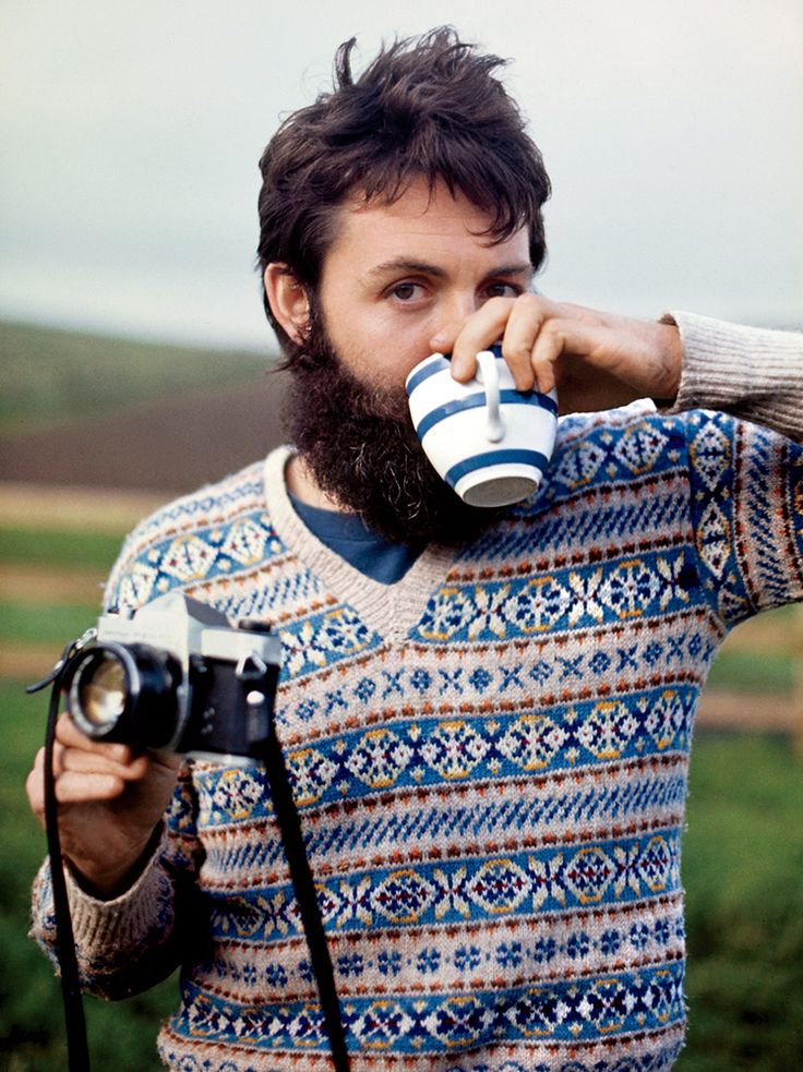 "gq: ""  TBT: When Paul McCartney Left the Beatles and Grew an Epic Beard  See more of Sir Paul's post-Beatles style here. """