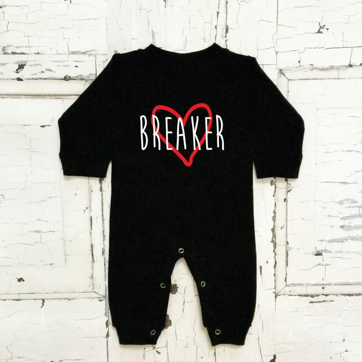 cute baby boys heart breaker outfit valentines day - Valentines Day Outfit Baby Boy