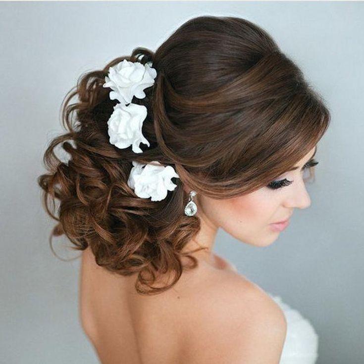 Bridal Hair flower Roses hair pin Wedding Hair flower Bridal | Etsy