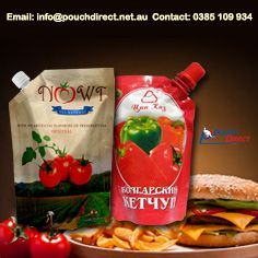 #spout #pouches #bags #liquidPackaging #ketchup #sauces #ReadyToEat #product #packaging #Australia