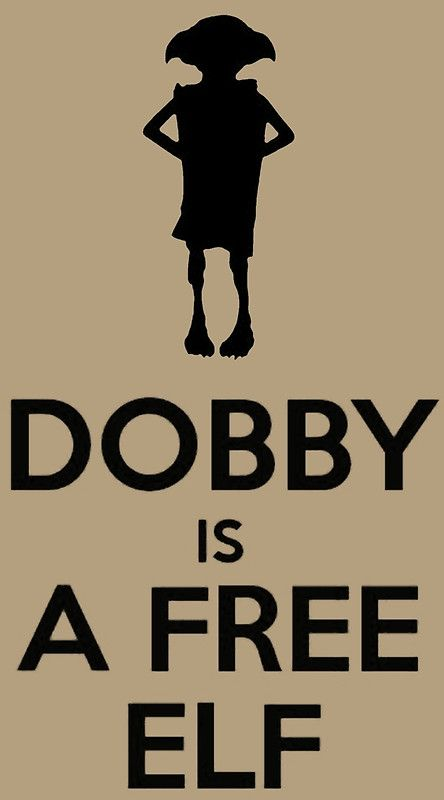 Dobby Is A Free Elf by tshirtdesign