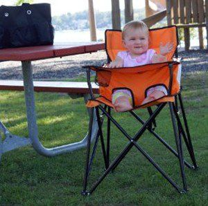 This portable high chair by Ciao is great for babies on the go! One of the best gifts for new parents who travel.