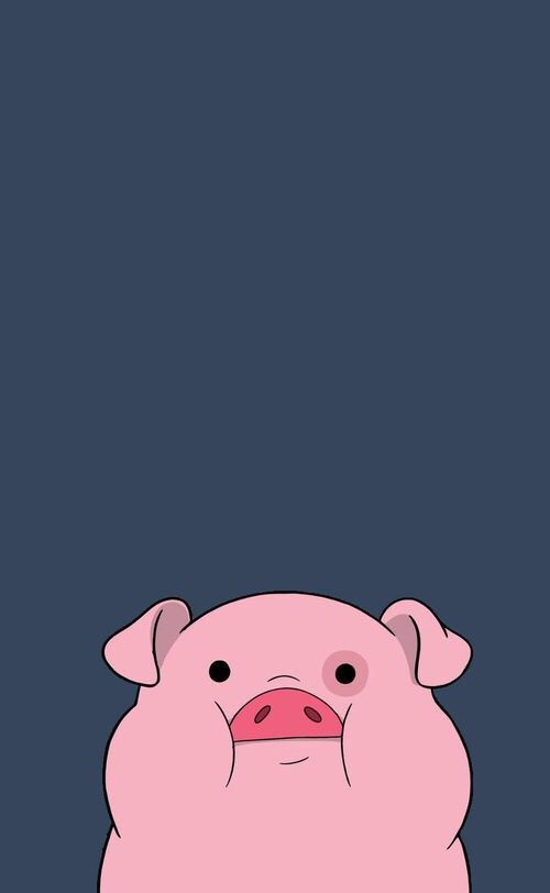 Imagen de pig, wallpaper, and pink
