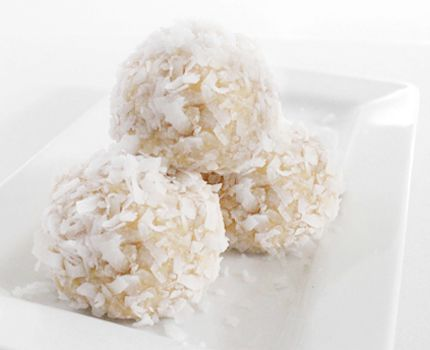 Snowballs - No bake