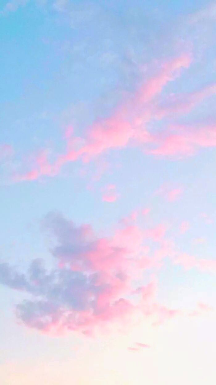 Iphone Wallpaper By Caloryn Pink Clouds