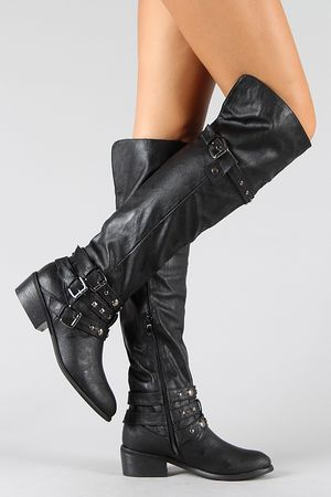 cheap knee high boots 48 #shoes #cuteshoes
