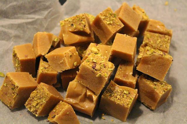 Ager bager: Karameller med vanilie, lime og pistacie