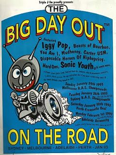 Big Day Out 1993 Poster