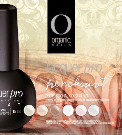 Organic Nails - LACQUER PRO - FRENCH SPIRIT