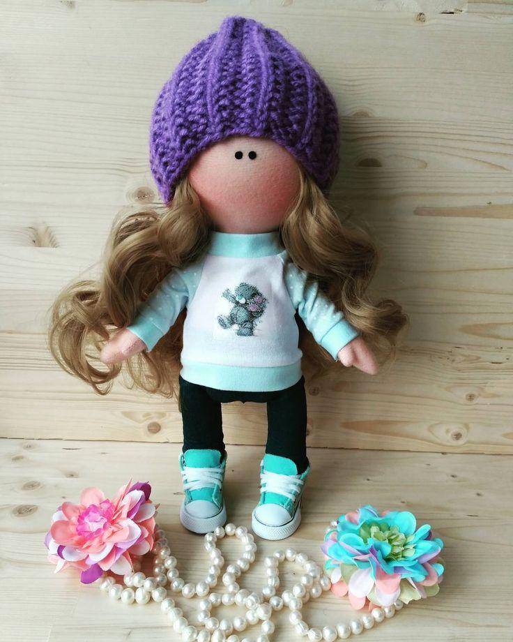 """28 Me gusta, 1 comentarios - Елена Горбачева (@fairyland_dolls) en Instagram: """"Куколка сделана на заказ для маленькой девочки. Одежда снимается. Возможен повтор…"""""""