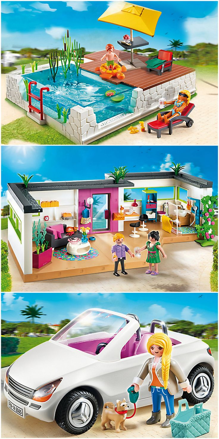 M s de 1000 ideas sobre muebles en miniatura en pinterest for Playmobil casa de lujo