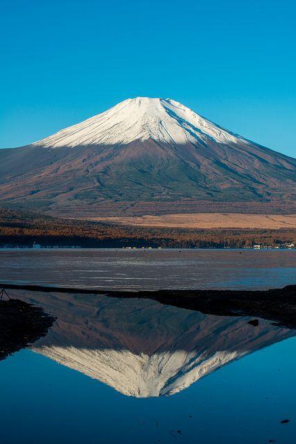 Autumn Fuji - Yamanashi Prefecture, Japan