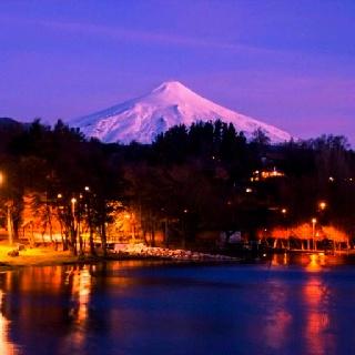 Lago Llanquihue, volcán Osorno