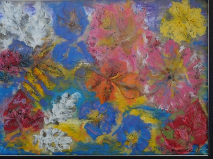 encaustic bloom Art, Painting, Encaustic
