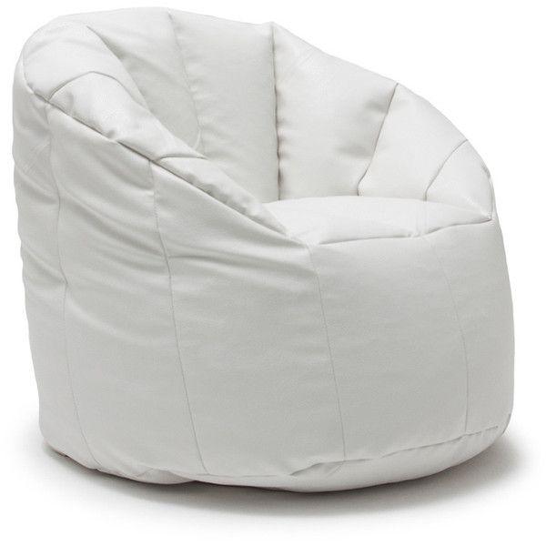 Comfort Research BeanSack Big Joe Milano Vegan Leather Bean Bag Chair GBP69