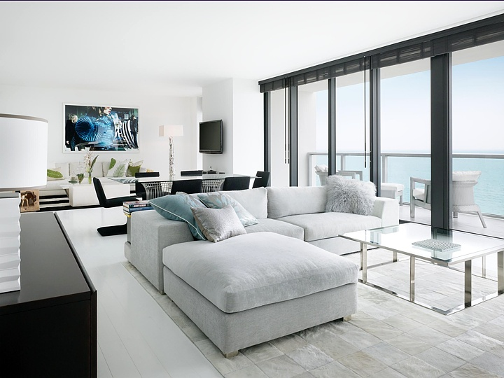 The amazing E-WOW Suite at the W South Beach...