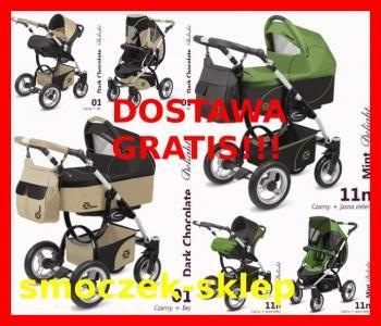 *BESTSELLER Wózek 3w1 BabyActive ELIPSO+3xGRATIS