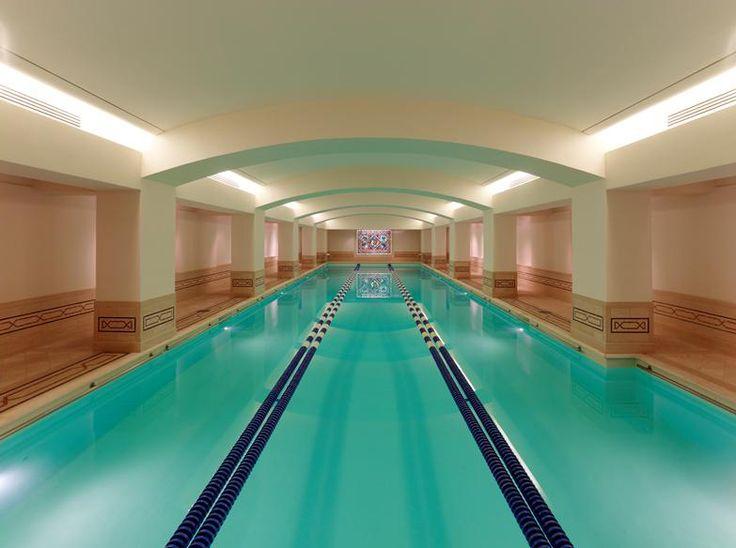 Amazing Modern Tudor Mansion In Hillsborough, California For Sale   Centurion ...  Indoor Swimming PoolsLap ...