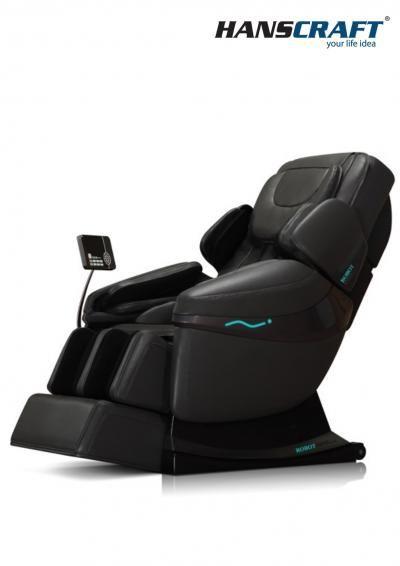 Masážní křeslo HANSCRAFT 3D Sensation - černé