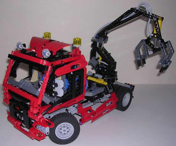 review lego technic 8436 camion bras articul lego technic pinterest lego. Black Bedroom Furniture Sets. Home Design Ideas