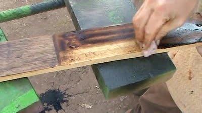 Como Envejecer un Mueble Tecnica Para Hacer Vieja La Madera