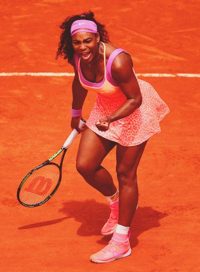 Serena Williams | Roland Garros 2015 2R
