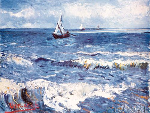Vincent+van+Gogh+-+Paesagio+Marino