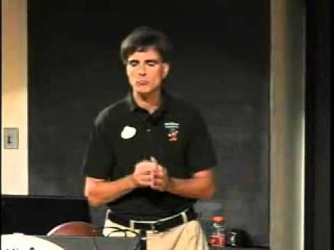 """Randy Pausch """"Last Lecture"""".  This is the inspirational lecture Randy Pausch  (http://www.randypausch.com ) is a virtual reality pioneer, human-computer  interaction researcher, co-founder of CMU's Entertainment Technology  Center.  With terminal cancer this is his inspirational Goodbye."""