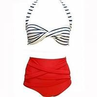 Foclassy  Banda Delle Donne A Vita Alta Bikini Set- http://www.siboom.it/culater-2015-donne-sexy-bikini-a-vita_offerte.html |
