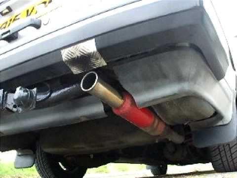 Volvo 240 GL with cherry bomb exhaust!