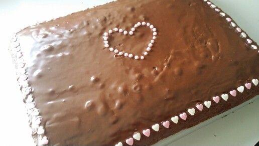 Sjokoladekake til konfirmanten