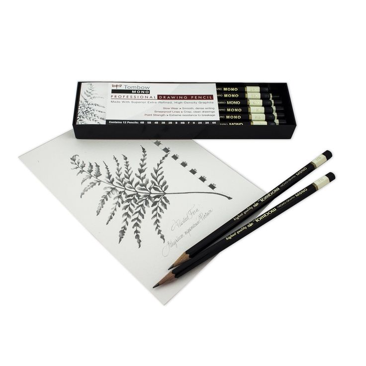Professional drawing pencil sketch kit tombow mono drawing kit pencil set sketching
