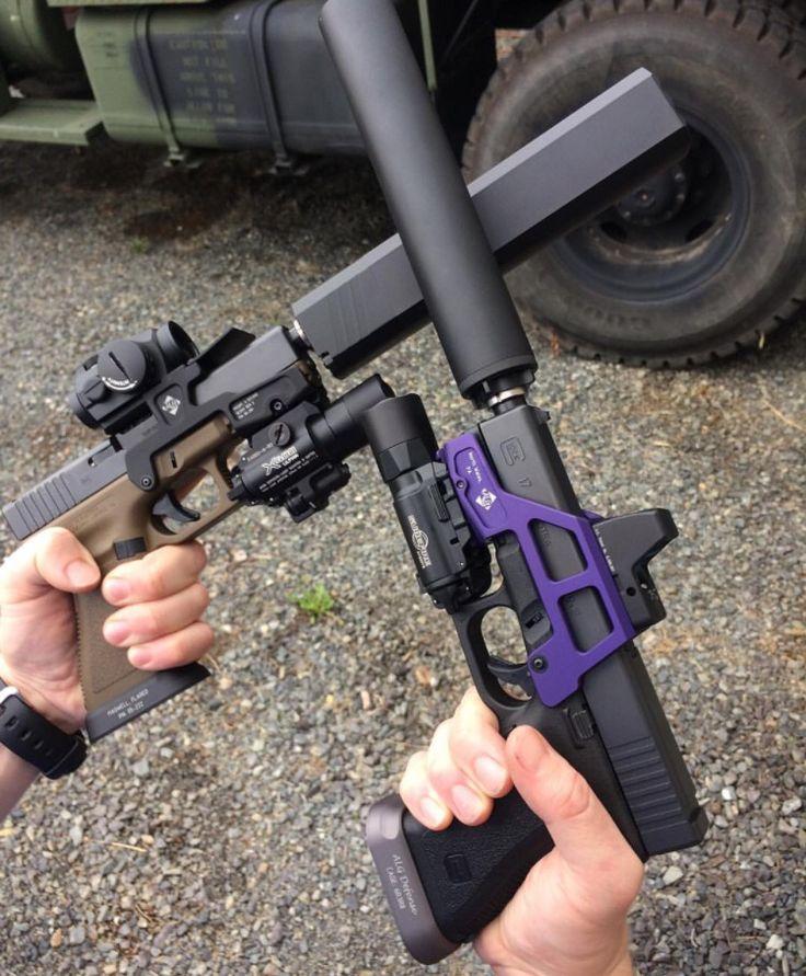 lleva tambien supresores para tus armas