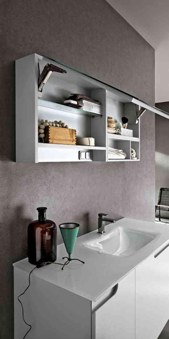 Varie soluzioni con mensoloni con #lavabo d'appoggio o vasche integrate in ecomalta. Il pratico tavolino in lamiera verniciata completa la composizione. #Arreda il tuo #bagno con il carattere unico di #Ryo di @cerasabagni  www.gasparinionline.it #arredobagno #interiors #brescia #mobili #madeinitaly