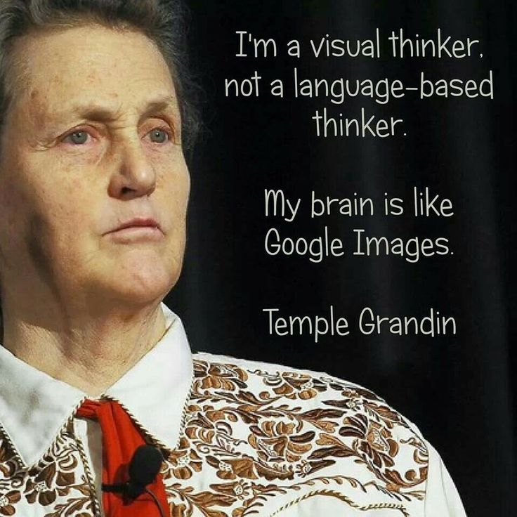 Temple Grandin, autism  Loved the movie about her extraordinary life!  Very insightful for anyone that wants to know more/understand people with autism