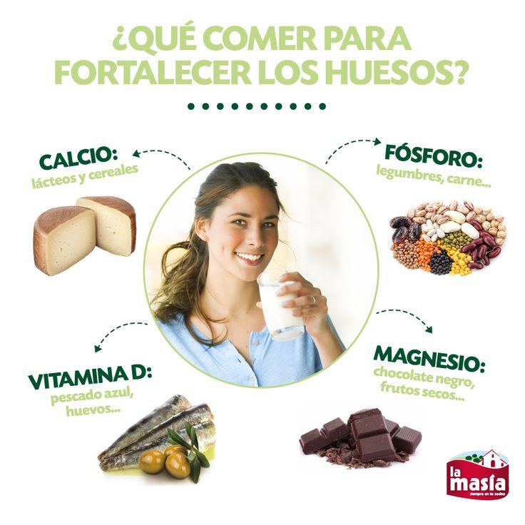 ¿Quieres presumir de #huesos sanos y fuertes? Entonces, toma nota de los alimentos de cuyas propiedades debes beneficiarte. Listado completo y recetas en nuestro #BlogLaMasía.