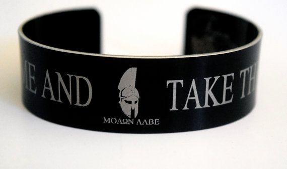 Molon labe Come And Take Them Bracelet
