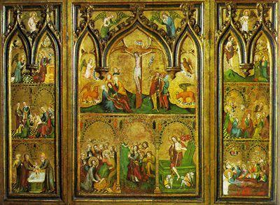IGLESIA CATÓLICA PRIMITIVA 'Pinturas murales en las catacumbas romanas