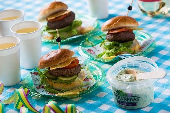 Hamburgertjes voor de jongens of de meisjes!