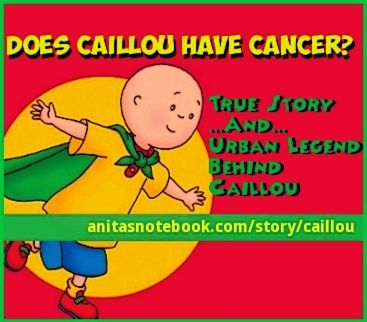 Okay so it's time to settle the question of why Caillou is ...