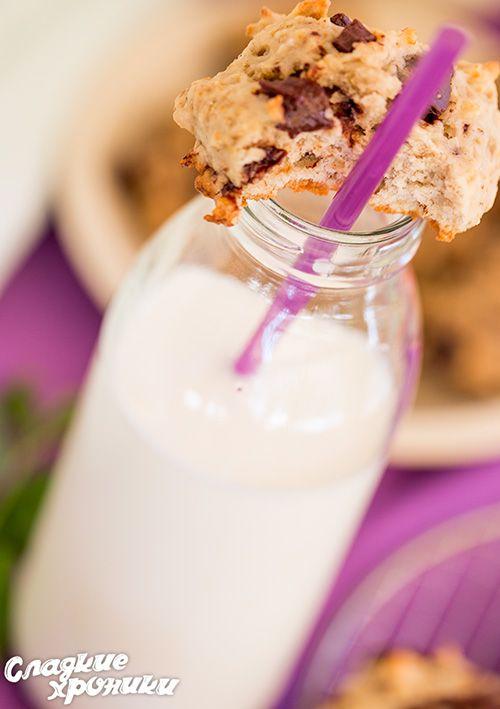 Мега-быстрое банановое печенье + бонус: пп-печенье из двух ингредиентов