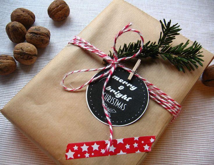 Zawieszki, tagi do prezentów, plik do wydruku - Projectgallias - Etykiety na prezenty