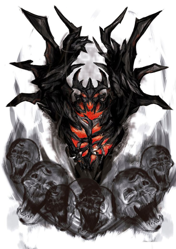 Shadow Fiend Estampa by MichelDG on DeviantArt
